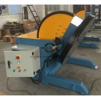 Quality Heavy Duty Pipeline Rotary Welding Positioner  With Rotate Motor And Tilt Motor wholesale