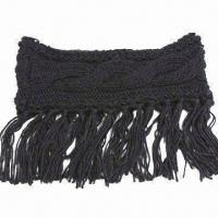 Buy cheap Ladies knitted neck warmer, made of 100% acrylic from wholesalers