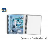 Best Durable Custom Printed Notebooks , A4/A5/A6 3D Lenticular Cover CMYK Offset Printing wholesale
