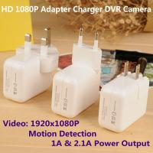 Best 1080P Mini Adapter CCTV Surveillance DVR Spy Camera Motion Detection US/EU/UK Plug Charger wholesale
