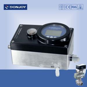 Quality Pneumatic valve positioner  0 / 4-20mA,IL-Top-S Controller, Aluminum Actuator Controller wholesale