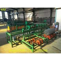 Best 2m to 4m wdth double wire feeding Chain Link Fence Weaving Machine wholesale