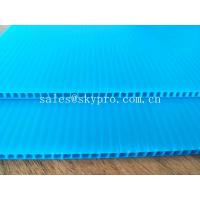 Best Blue Dirt - proof Polypropylene Hollow Sheet Durable PP Corrugated Plastic Boards wholesale