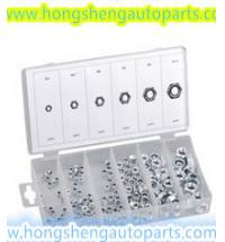 Best (HS8037)150 NYLON LOCK NUT KITS FOR AUTO HARDWARE KITS wholesale