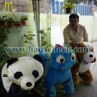 Best Hansel China Plush Motorized Animals Stuffed Zippy Rides Electric Animal Scooters for sale wholesale