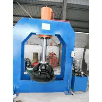 China 6.00X9 Forklift Tire Press Hydraulic Machine With High Pressure Relief Valve on sale