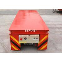 Best Dumping Platform Industrial Material Carts , Simple Structure Lifting Table Trolley wholesale