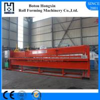 Best Reliable Hydraulic Shearing Machine For Roofing Cutting 4m Raw Material Width wholesale