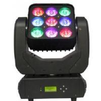 Best CE 9 × 10W LED Beam Moving Head Lighting 16 Bit Smooth Dimming wholesale