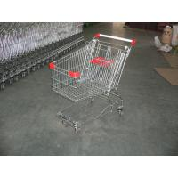 125L Wire Supermarket Shopping Trolley  Carts with bottom tray and baby seat