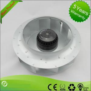 Best Steel Brushless DC Centrifugal Fan , Backward Inclined Centrifugal Fan Air Blower wholesale