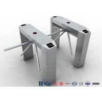 Best RS485 Access Control Tripod Turnstile Gate , 304 SS Waist Height Turnstile wholesale