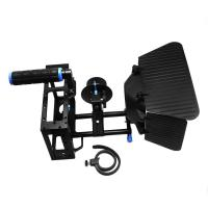 Cheap Camera Cage +Top Handle+15mm Aluminum Rod Block Plate+Follow Focus+Matte Box for sale