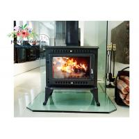 Best Environmental Promotional Free Standing Polished Cast Iron Fireplace 12KW wholesale
