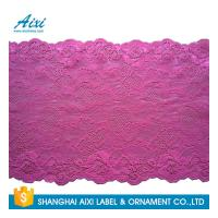Best Nylon Stretch Lace Embroidery Lingerie Lace Fabric For Underwear Dress Garments wholesale