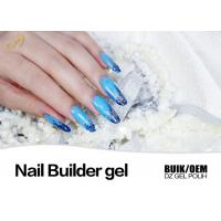 Best No Burn No Hurt Clear Builder Gel For Nails , UV Gel Builder Use UV / LED Lamp wholesale