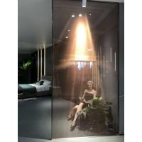 Best Laminated Glass Sliding Door With Copper Metal Coated Mesh Fabric wholesale