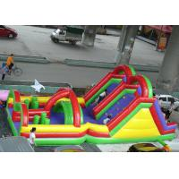 Best Colorful Printed Inflatable Amusement Park OEM Customized EN71 CE Approved wholesale