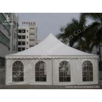 Quality Large Width High Peak Tents , Aluminum Frame Outdoor Party Tents 10x10m wholesale