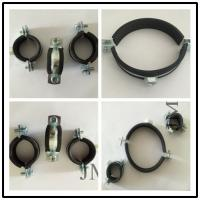 Quality Residential Facilities Application Pipe Support Clamps / Cushioned Pipe Clamp wholesale