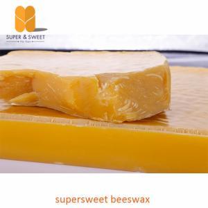 Best Refined Pure Yellow Beeswax Block USP / NF Pharmacy Honey Bee Wax wholesale