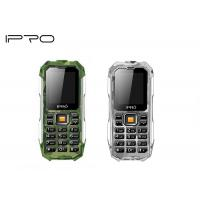 China MTK6261D 2.0 Outdoor Rugged Mobile Phones Big Button Box Speaker Durable on sale