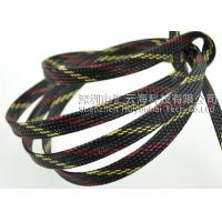 China 20mm Flame Retardant Wire Loom , Polyester Thermal Wire Sleeve Eco - Friendly on sale