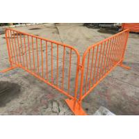 Best 1.0x2.0m Different Color Portable Barricades I Crowd Control Barrier I Traffic Barrier wholesale