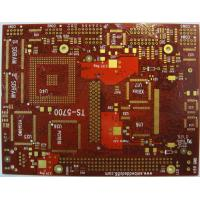 Best FR4 tg170 6 Layer HASL / Lead free HASL Immersion Gold HDI Multilayer PCB with Red Mask wholesale