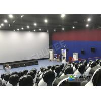 Best Beautiful Decoration 5D Theater Chair With Many Leather And Fiberglass Seats For Choice wholesale
