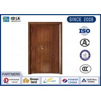 Best 60 Minute Red Fireproof Interior Door For High Rise Commercial Building wholesale