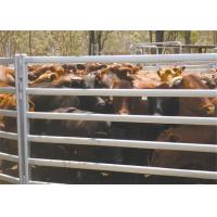Buy cheap Sturdy Portable Horse Yard Panels , Iron Steel Cattle Yards SGS ISO Listed from wholesalers