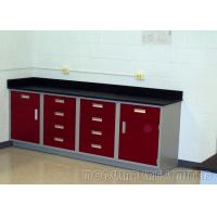 Best PVC Edged Laminate Dental Work Bench , Abrasion Resistance Dental Clinic Furniture wholesale