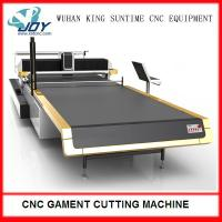 Quality Electric Automatic Fabric Cutter , CNC Cloth Cutting Machine With Completed Spreading wholesale