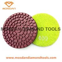 Best 3 Inch Wet Resin Bond Polishing Pads for Concrete Floor Grinders wholesale