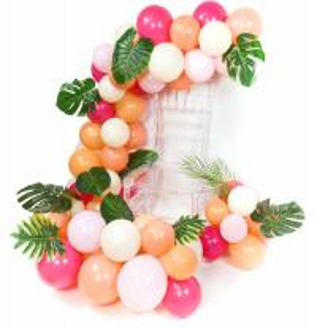 China Customized Birthday Room Balloon Decoration , 10 Inch Blush Pink Balloons on sale