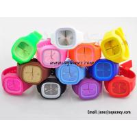 Best Band new Cheap Stylish Jelly Silicone Watch with wholesale price wholesale