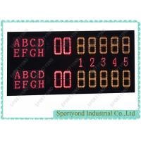 China Tennis Court Digital Electronic Scoreboard With Wireless Tennis Scores Display on sale