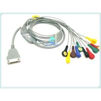 Best Hangzhou beneware ECG holter cable with 10 / 12lead ecg cable with snap wholesale