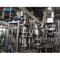 Cheap ISO Certificated Pulp Juice Filling Machine ,SUS304 Hot Filling Machine 6000BPH for sale