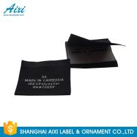 Best Accessories Damask Clothing Label Tags , Custom Made Apparel Garment Woven Label wholesale