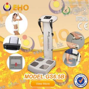 China GS6.5B  checking full body device, body fat monitoring, body checking machine,BMI Bioelect on sale