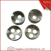 Best Malleable Circular Conduit Junction Box Loop In Box 1/2/3/4 Holes Thread , ISO9001 wholesale