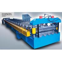 Best 16 Stations Corrugated Metal Roof Sheet Roll Forming Machine With CE Certification wholesale