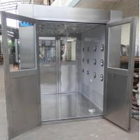 Cheap IOS 5 Stainless Steel Clean Room Air Shower Tunnel Equipment With Vertical Blowing for sale