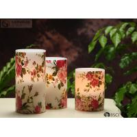 """Best Rose Decorative Flickering Flameless Led Candles Dia 3"""" x H 4"""" wholesale"""