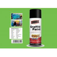 Best Jade Green Color Graffiti Spray Paint High Coverage For Motorcycle Surface Decoration wholesale