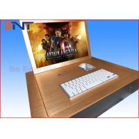 China Gold Color 19 Computer Monitor Lift  , Flip Up LCD Lift With Infrared Sensor on sale