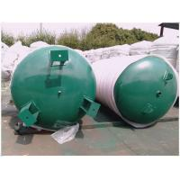 China 7560 Gallon Ingersoll Rand Air Compressor Storage Tank With Inspection Hole on sale