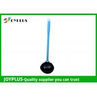 Best Durable Bathroom Cleaning Accessories Black Toilet Plunger With Plastic Handle wholesale